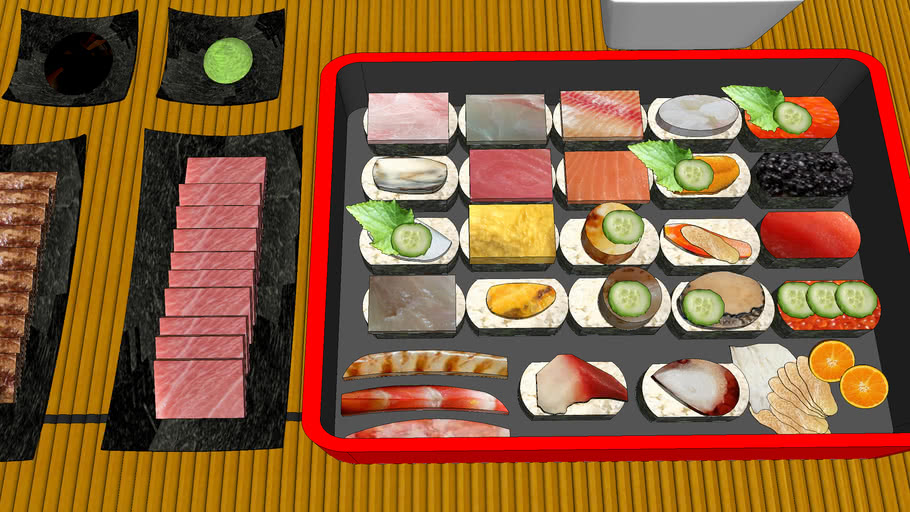 黑鮪魚中腹肉和牛定食    黑鮪魚中腹肉    和牛   定食  套餐    Black tuna    Japanese beef    Teishoku    Combo meal