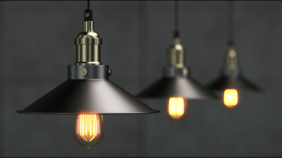 Light Bulb (V-Ray Ready)