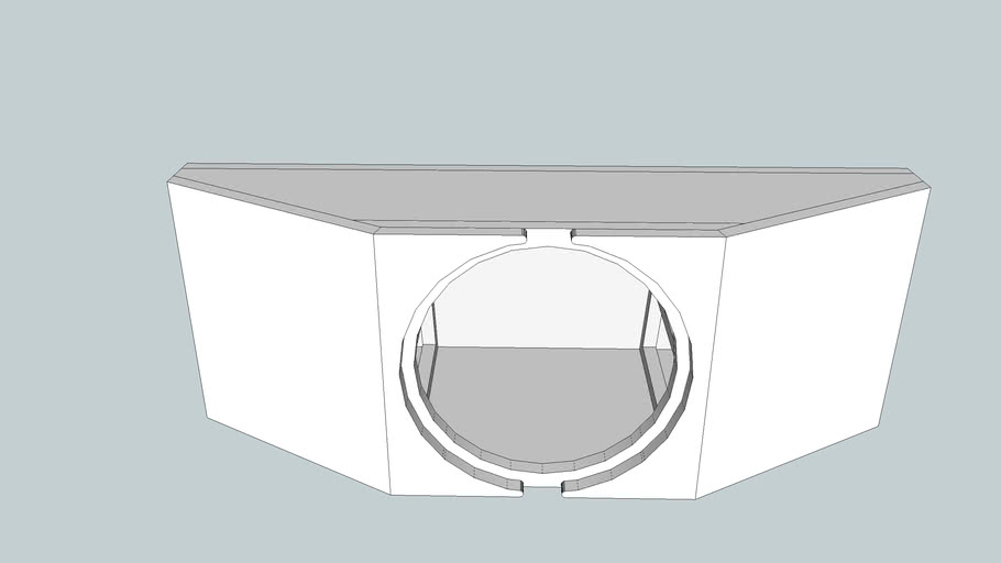 Sealed Enclosure Plans for 12W6v2 (1.35ft3*)