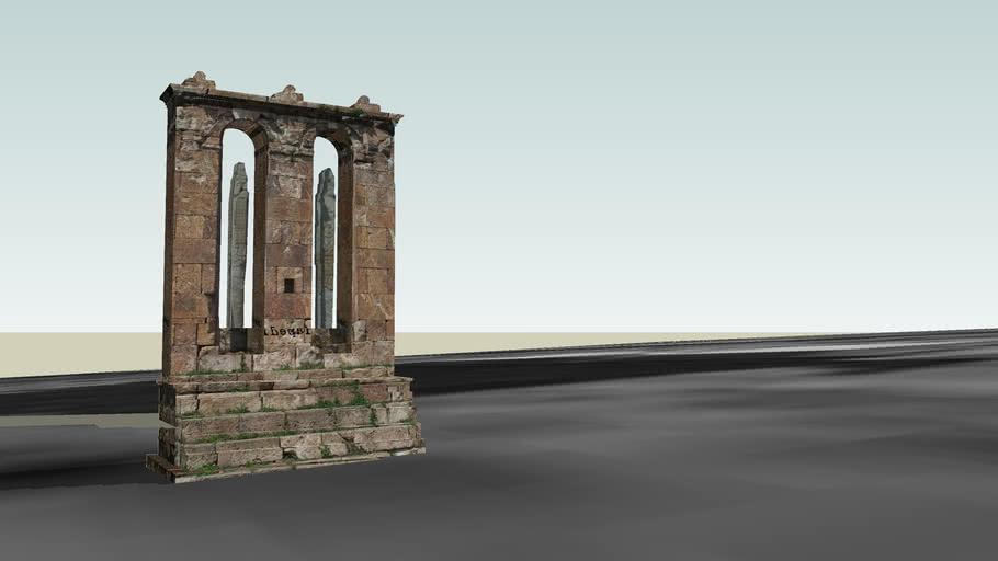 Odzun Funeral Monument 6th century Օձուն