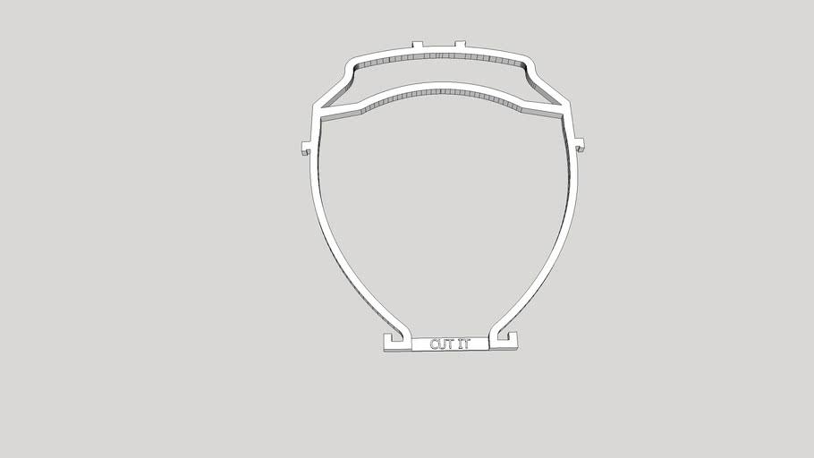 COVID - Visière [Espace pour Lunette/Space for Glasses]