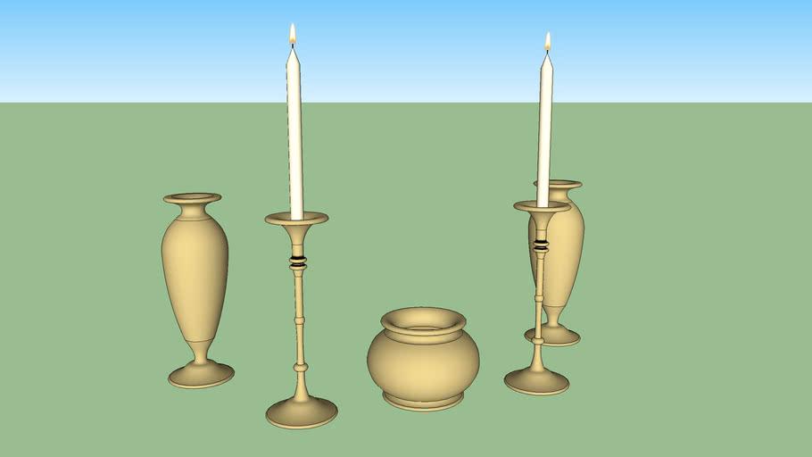 Candle Sets (Thai)