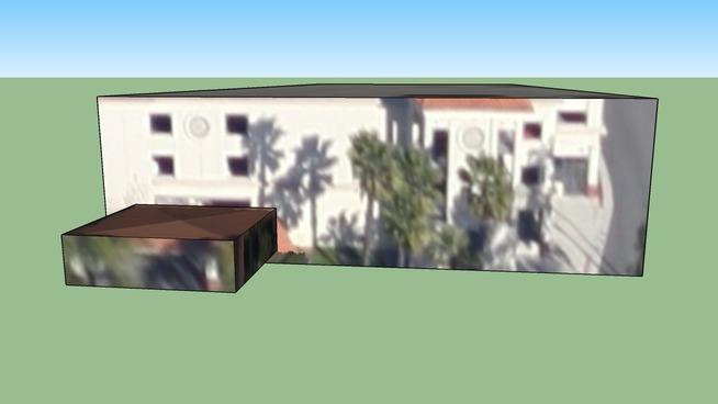 Building in Santa Ana, CA, USA