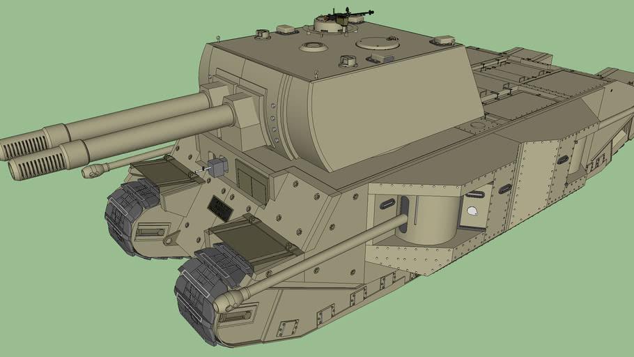 TOG 3* Super Land-Battleship