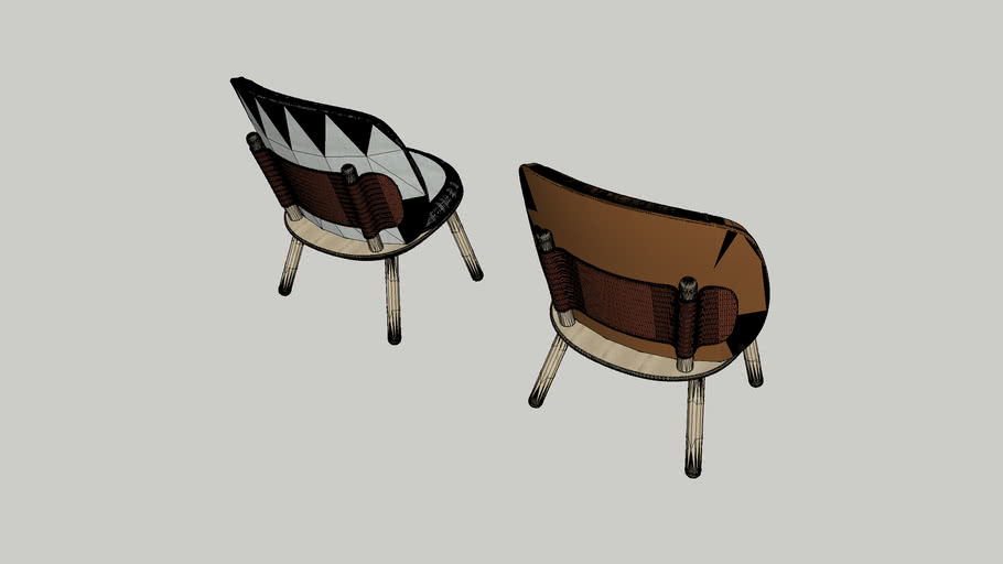 NAIVE LOW CHAIR