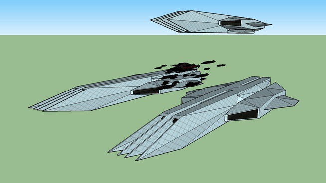 new federation ships
