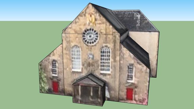 Canongate Kirk in Edinburgh EH8 8DQ, Great Britain