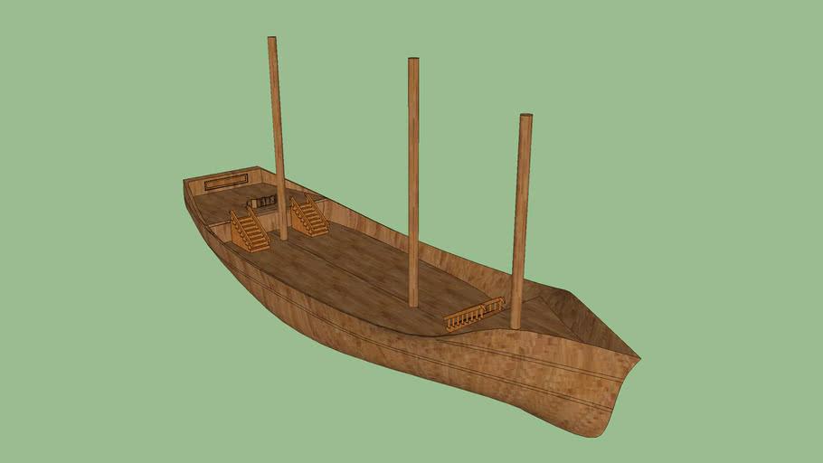 Basic Unrigged Ship