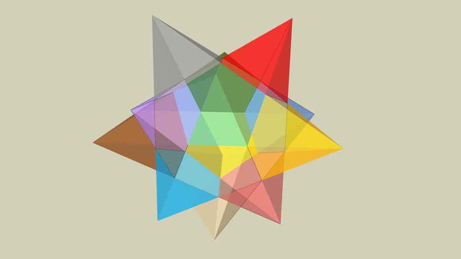 pentagone to star 3D
