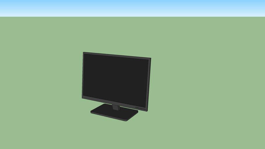 Monitor widescreen genérico