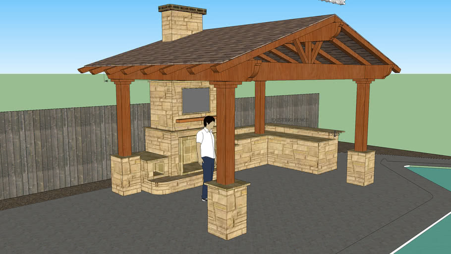 Outdoor Kitchen Fireplace Warehouse