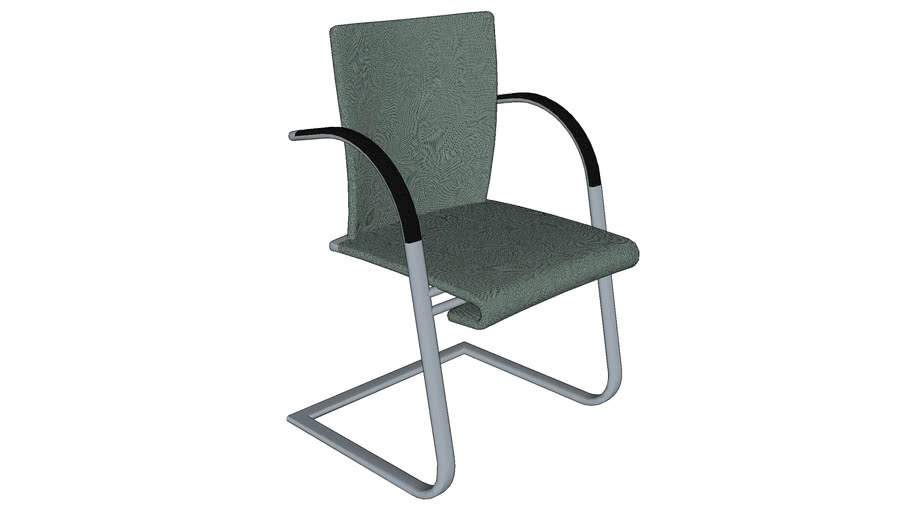 Ahrend 350 Visitor chair cantilever frame