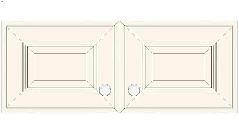 Wall Double Door 12Hx15D