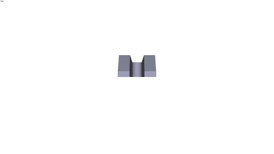 Stepped clamp - 315 x 66 x 40 mm