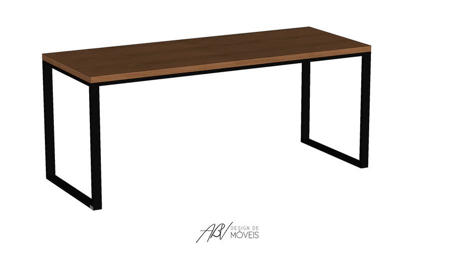Mesa de Jantar Austin G - ABV Design de Móveis