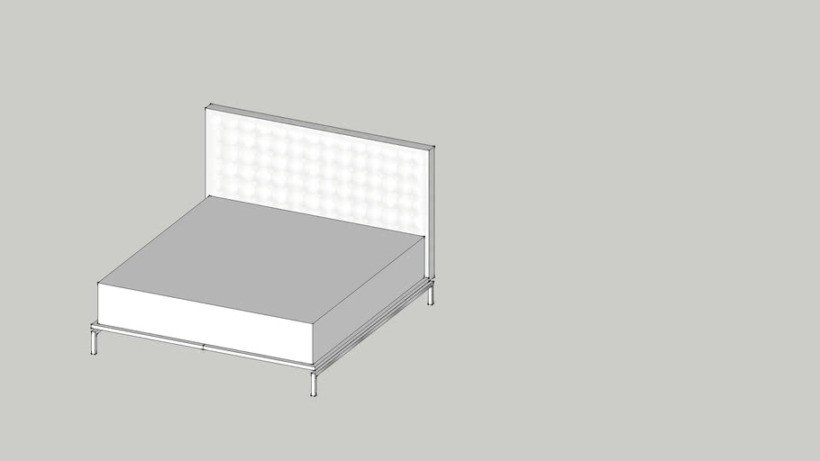 Lazzoni High End Bed - King Size (SKU#NUE877)