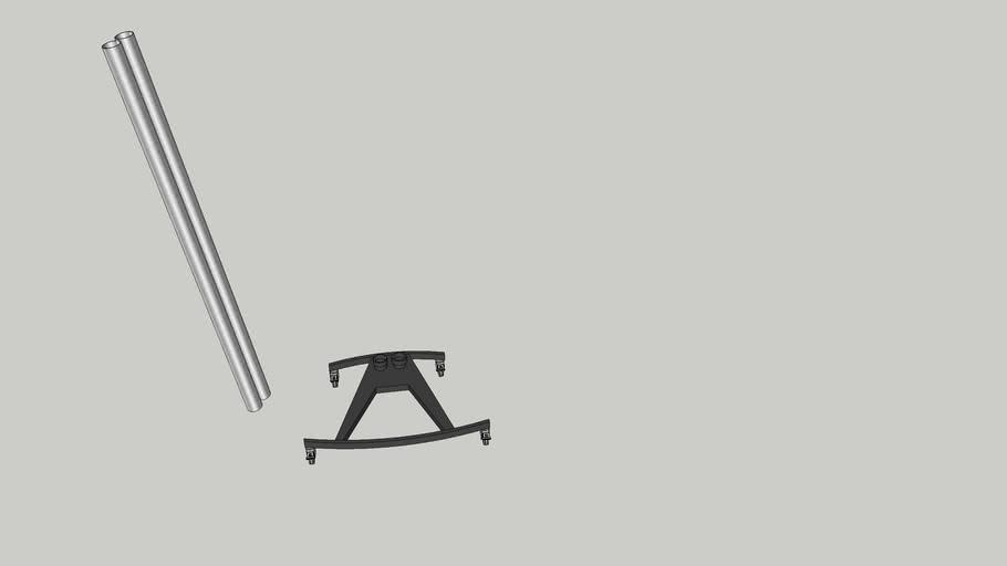 Unicol k stand w/ 2m poles