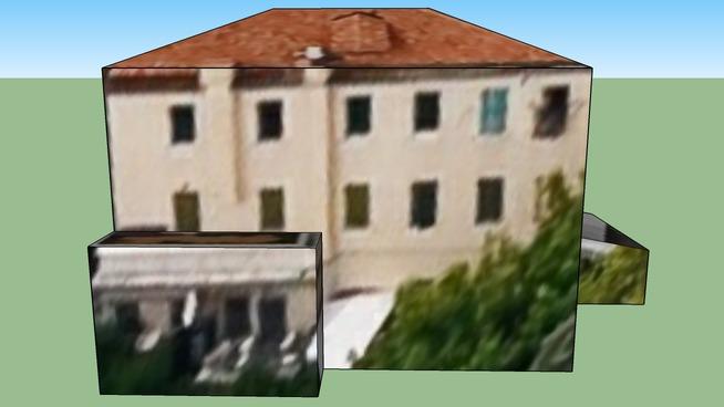Edificio al Lido di Venezia, Italia