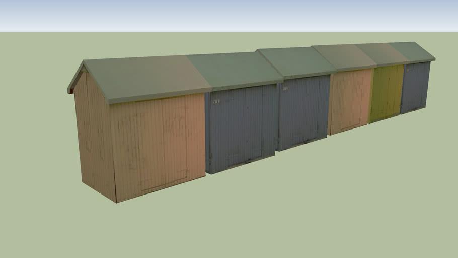 Berck-Plage - Les cabines de la plage