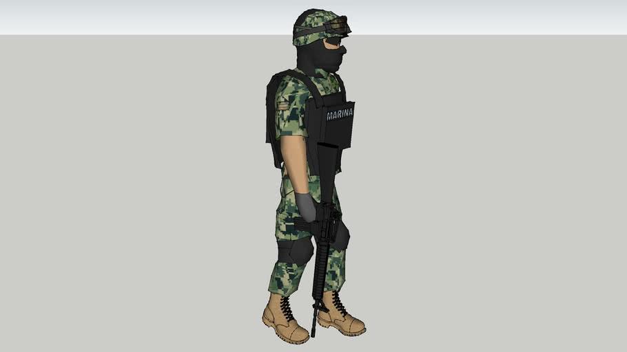 soldado de semar de mexico