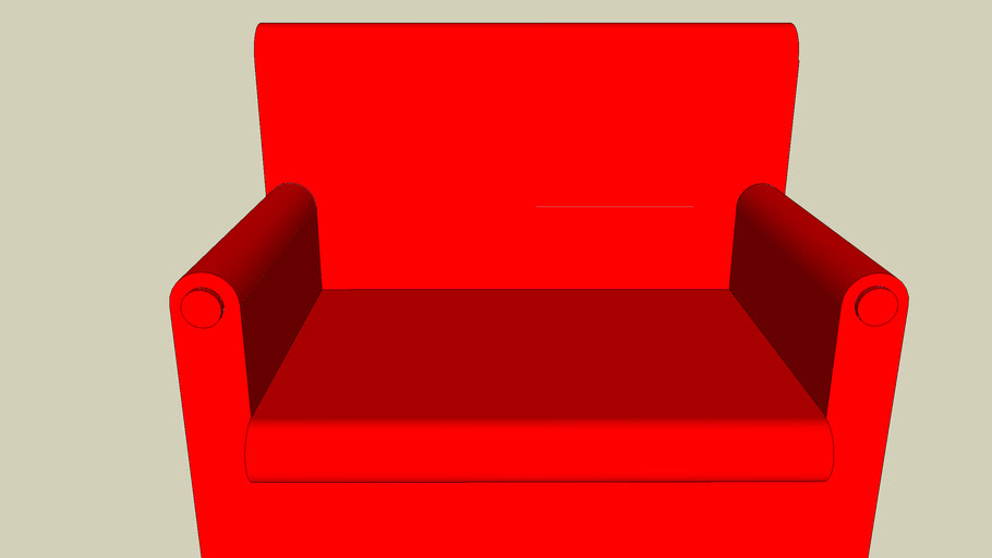 red sofa==>better