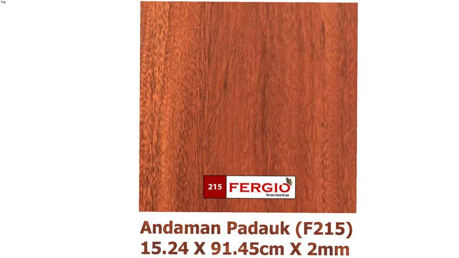 FERGIO vinyl flooring F215 (Andaman Padauk)