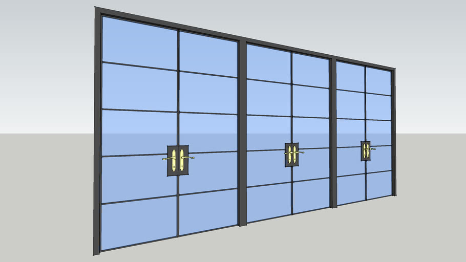 Glass Door Wall