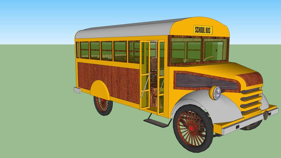 American vintage bus 9 (the oldies walks)
