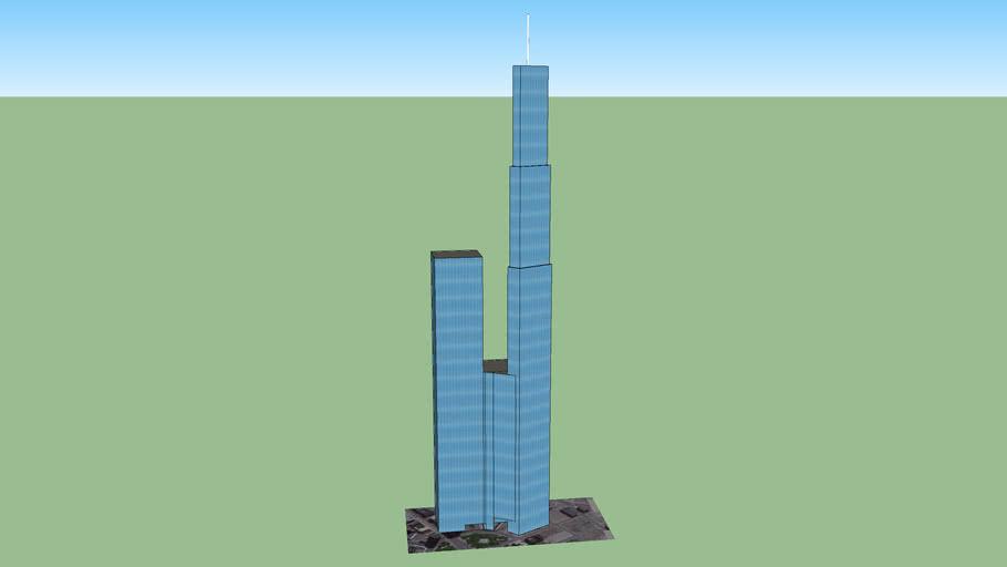 RL Internation Hotel & Tower Detroit, and Quicken Loans Headquarters