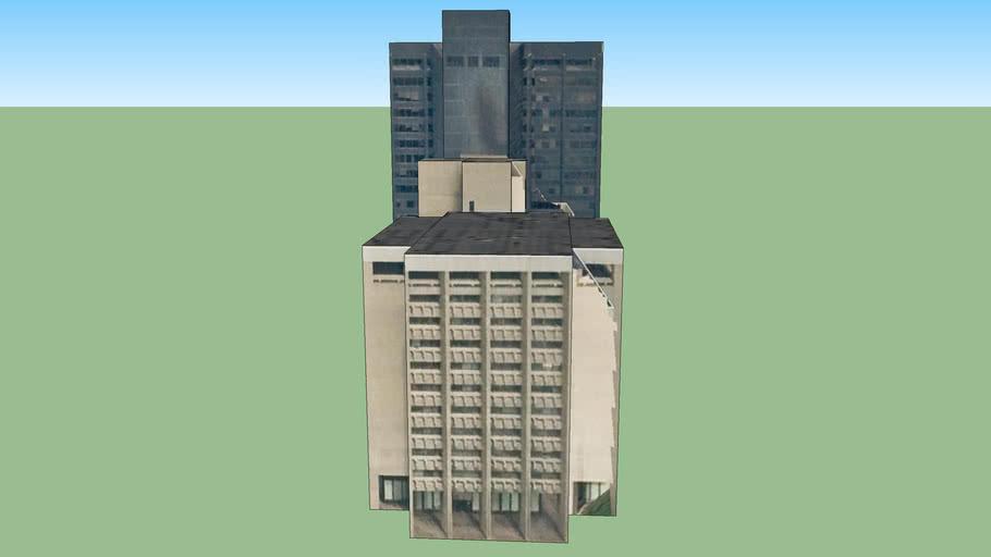 Gebäude in Detroit, MI, USA
