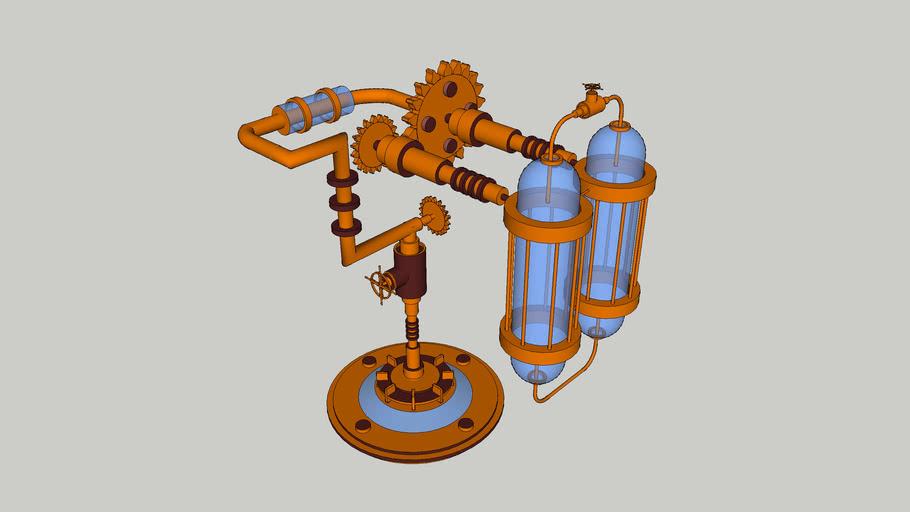 lamp steampunk
