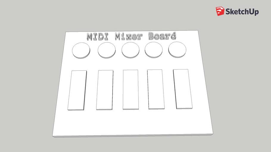 MIDI Mixer Board
