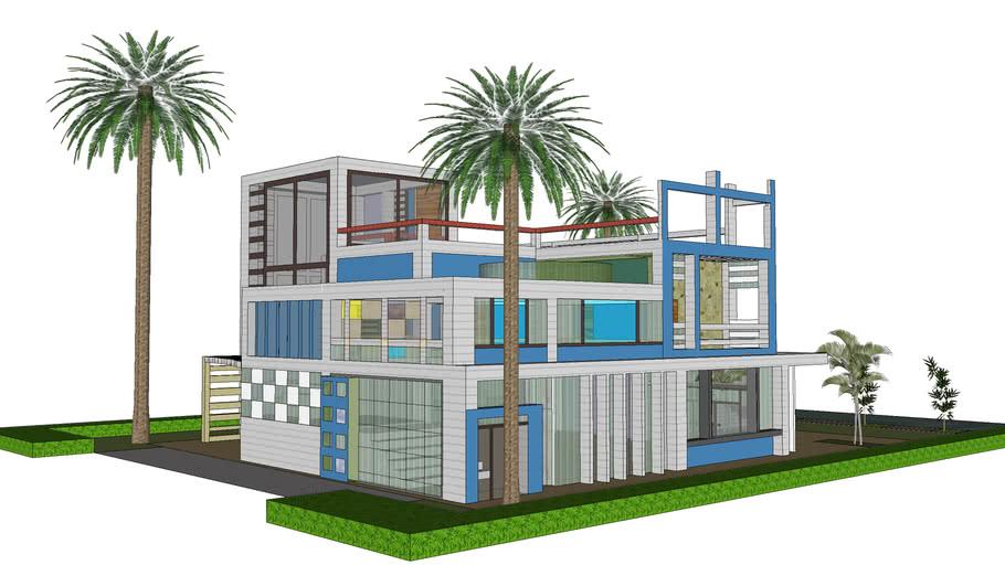 Modern Duplex House In Dhaka 3d Warehouse,Apartment Floor Plans Two Bedroom