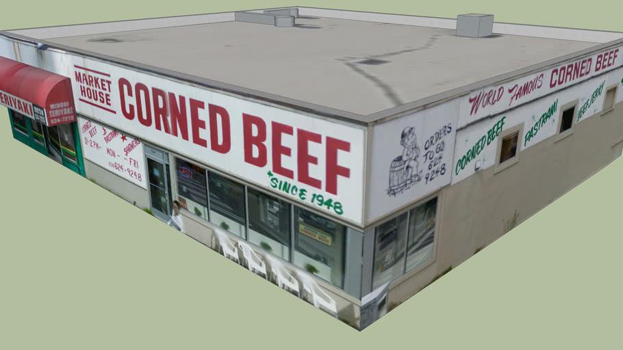 Market-House Corned Beef in Seattle, Washington