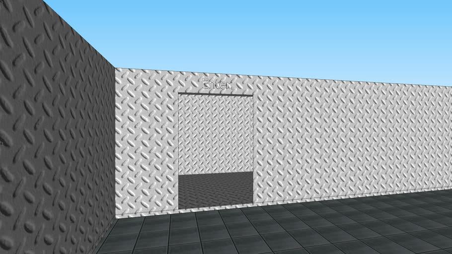 Metal Maze - Sketchup 8.