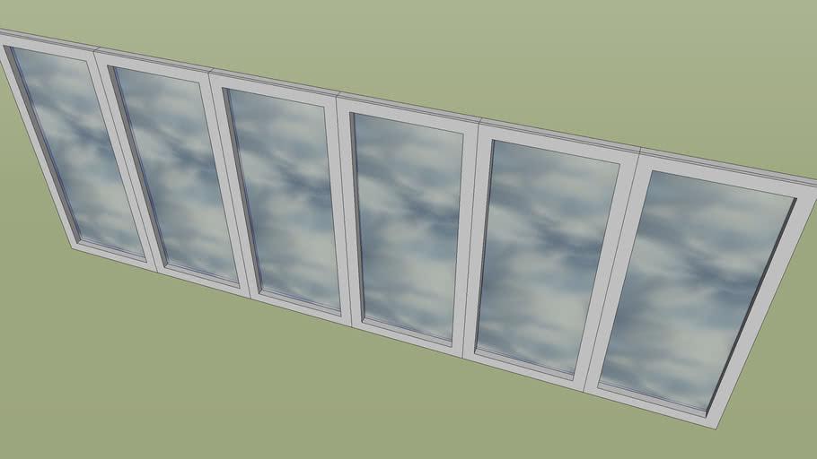 6 pane bifold doors