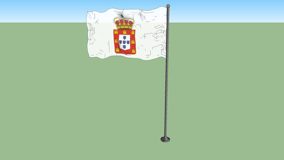 Flag of Portugal 1707
