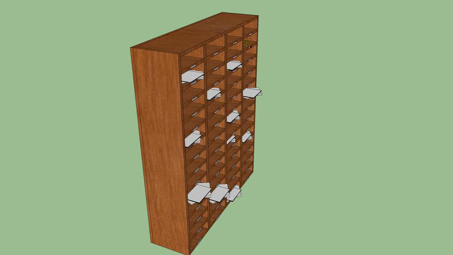 RWA Office - Teacher File Boxes - Alexander