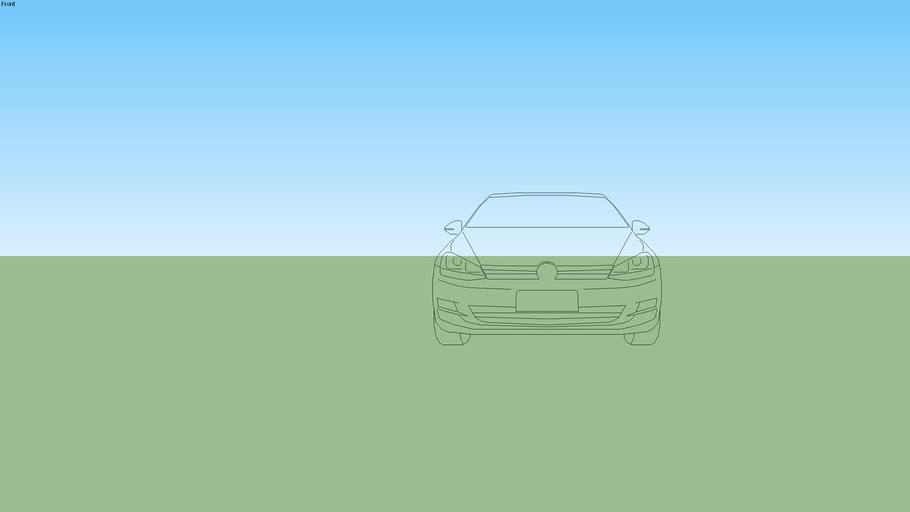 Volkswagen Golf 2017 2D