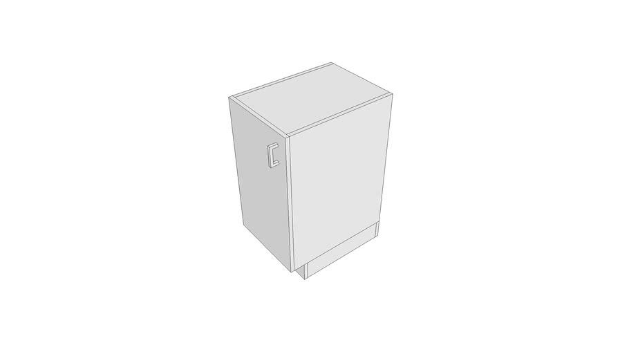 X1070 - Cabinet, Bin, Receptacles, Waste, 36x16x22-LH