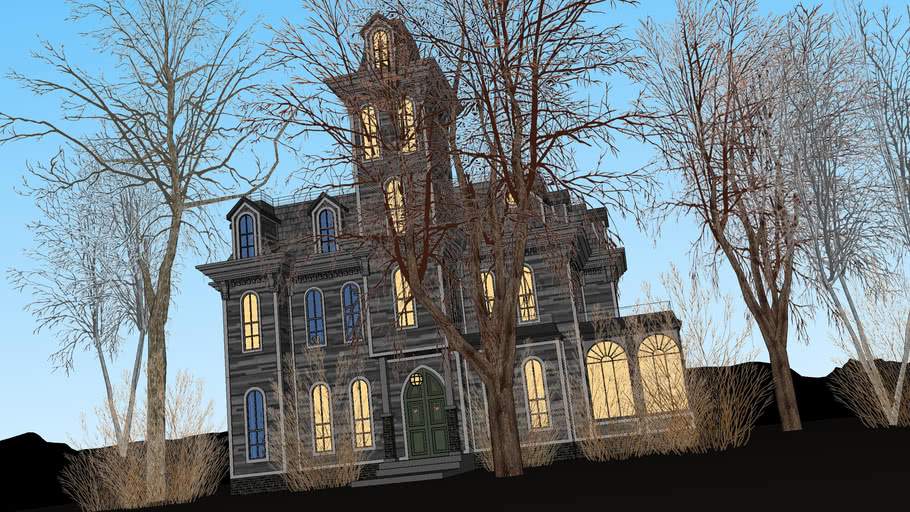 Addams Family Home From The Movie 3d Warehouse