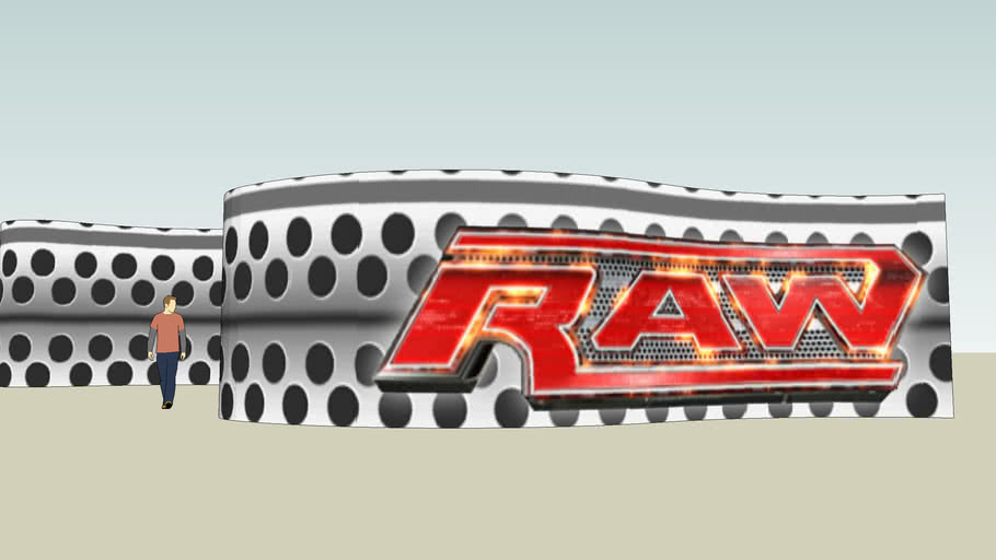 WWE HD - RAW MINITRON
