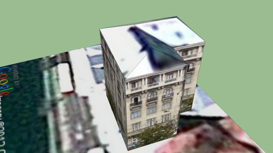 Building on Splaiul Independentei, Bucharest