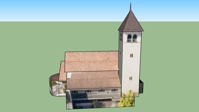 Kirche in Zürich, Schweiz BETA