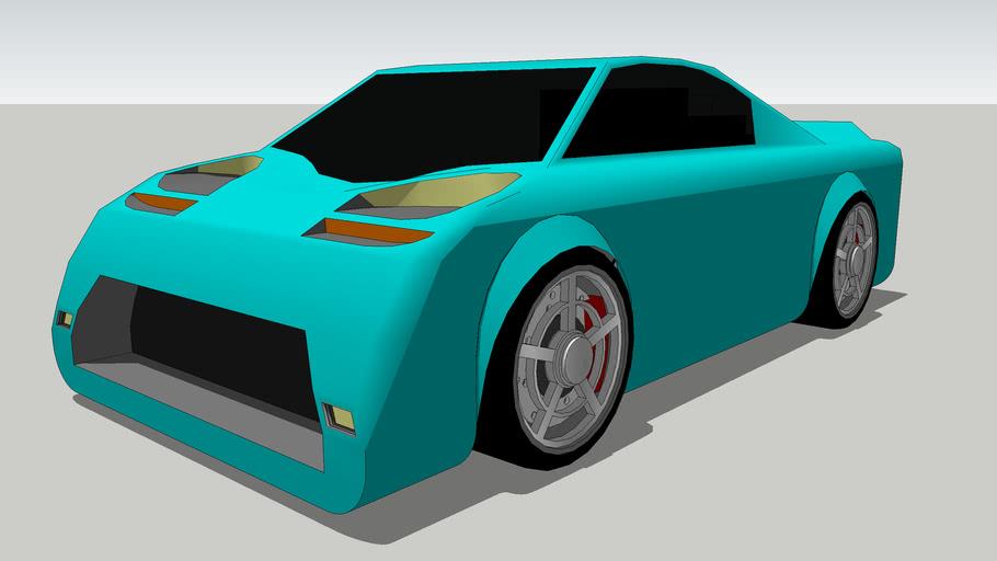 Supercar, Made for game (BENOIT R. NIRUPADRAWA)