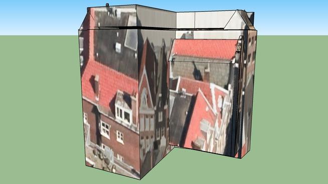 Gebouw in 1012AR Amsterdam, Nederland