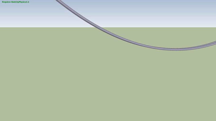 Catenary Shape and Ball