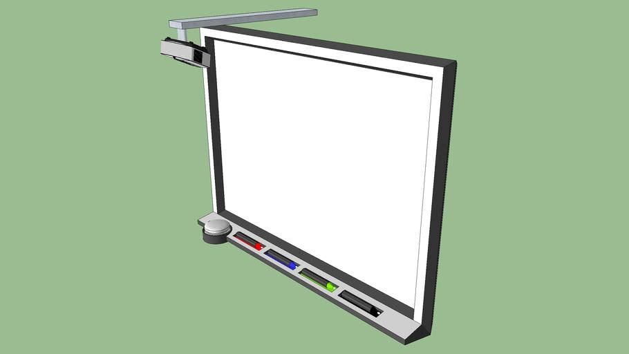 Smartboard, with overhead
