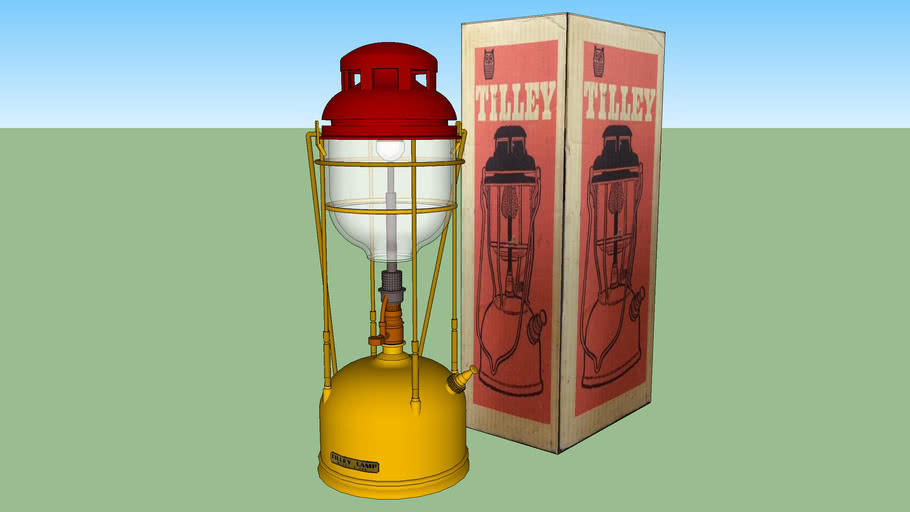 Tilley Kerosene Lamp