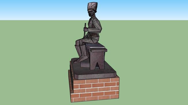 памятник анархисту Нестору Ивановичу Махно